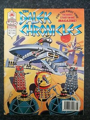 Doctor Dr Who 'The Dalek Chronicles' Doctor Who Magazine EXCELLENT DWM Special