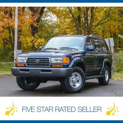 1997 Toyota Land Cruiser 108K mi Diff Lockers Lock FJ80 4WD CARFAX Serviced! 1997 Toyota Land Cruiser 108K mi Diff Lockers Lock FJ80 4WD CARFAX Serviced!