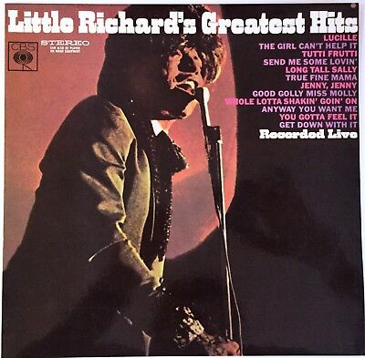 LITTLE RICHARD Greatest Hits LP Recorded Live RARE