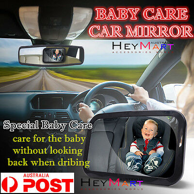 Car Baby Seat Inside Mirror View Back Safety Rear Ward Facing Child Care Mirror