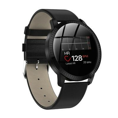 Bluetooth Sports Bracelet Smart Watch Heart Rate Blood Wristband For iOS Android