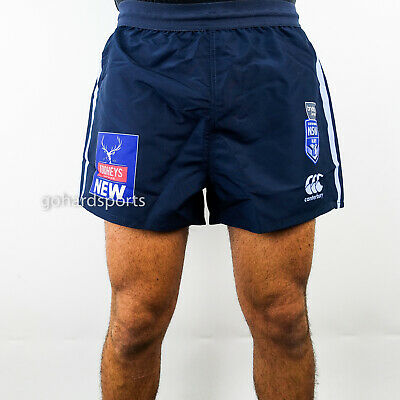 NSW Blues 2019 State of Origin On Field Shorts (Sizes S - 4XL) + FREE CAP