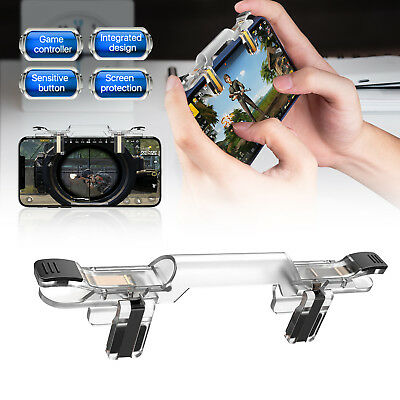 Mobile Cell Phone PUBG Game Controller Fire Button Key Gamepad Shooter Trigger