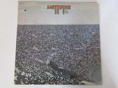 Wattstax The Living Word, Soundtrack Isaac Hayes 2 LP 12''