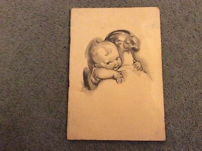 CHILPRUFE Pre War Advertising Baby care Brochure  from 1939. 25cm X 17cm