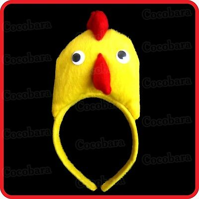 Chicken,chick,hen,rooster,chook -Headband-Hairband-Cute Costume-Party-Dress Up