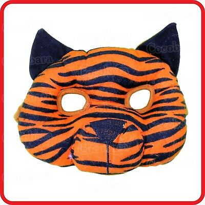 Kids Childrens Cute Tiger Cat Kitten Mask-Animal Costume -Party-Dress Up-Cosplay
