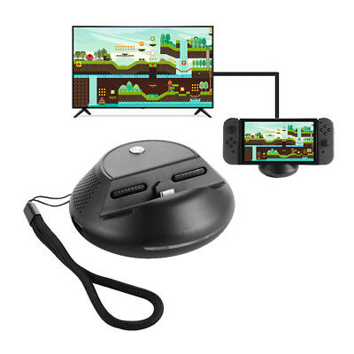 Portable HDMI TV Charging Dock Converter Charge Stand For Nintendo Switch AC1557