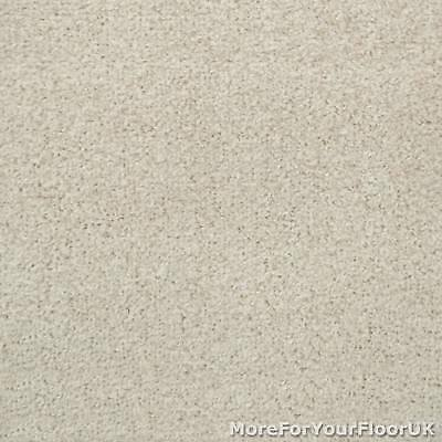 Soft Cream Liberty Heather Twist Carpet Cheap Flecked Bedroom Felt Backing 4m