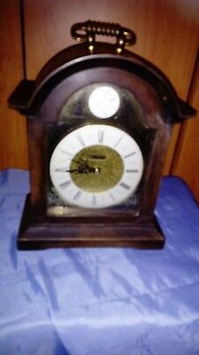A Fine German Chiming Mantel Clock By Hermle