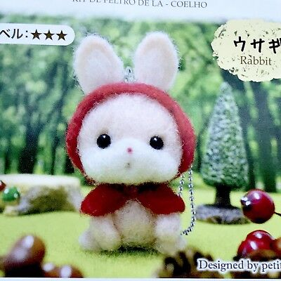 Adorable Bunny Rabbit Diy Craft Felt Kit