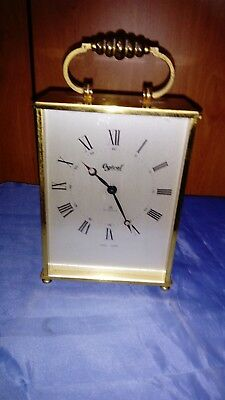 A Fine Swiss Carriage Clock By Ogival