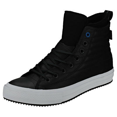 Converse Ctas Waterproof Boot Hi Mens Black Blue Leather Trainers - 7 UK b7b0c4ac6