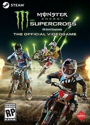 Monster Energy Supercross: The Official Videogame Global Free PC KEY