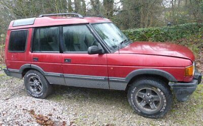 LANDROVER 1996 DISCOVERY 1 FIVE DOOR BODY 300 TDi AUTOMATIC LEATHER & LOGO SEATS