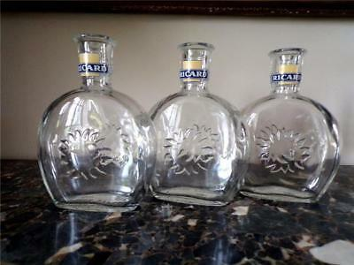3 Vintage French Cafe, Bistro 'RICARD' Water Carafes