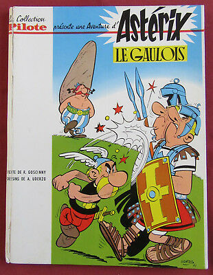 ASTERIX  BD LE GAULOIS 1a  1964  COLLECTION PILOTE  UDERZO  GOSCINNY TBE