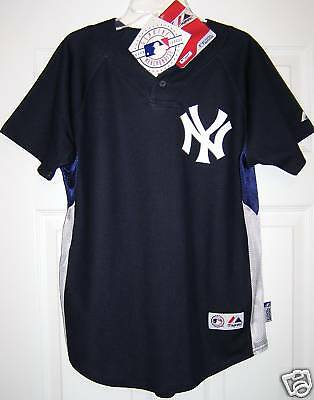 97c222f8c MLB Majestic New York Yankees Authentic Youth Boys Cool Base BP Jersey