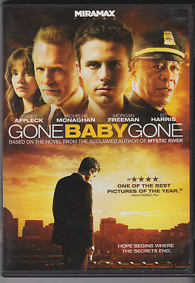 Gone Baby Gone Casey Affleck Morgan Freeman Ed Harris Superb Thriller