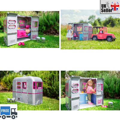 Our Generation RV Camper Van for 4x4 Jeep Accessories Motorhome Kids Girls Toy
