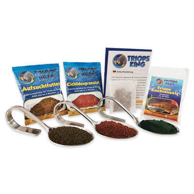 Triops Granarius Tadpole Shrimp Starter Kit Ultra with feed and instructions