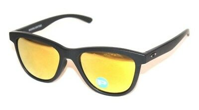 31e1fa508a Oakley Moonlighter OO9320-10 Sunglasses Black W 24K Iridium Polarized Lenses