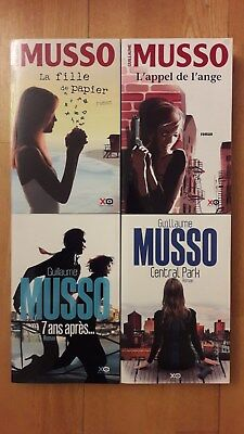 Guillaume Musso Lot 2010 2014 + Paris Poster Guide
