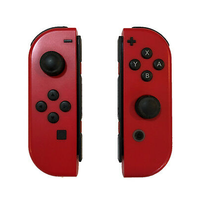 Nintendo Switch Super Mario Odyssey Edition RED Left & Right Joy-Con Controllers