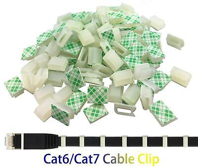 100 Pieces Wire Adhesive Cable Clips Car Cable Tie Cable