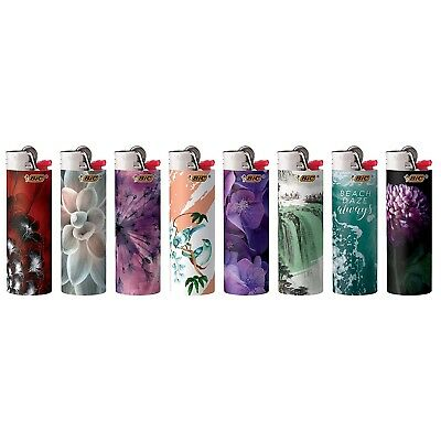 """NEW Bic Lighter Fashion Art Full Size 50 Count Tray """"FREE SHIPPING"""""""