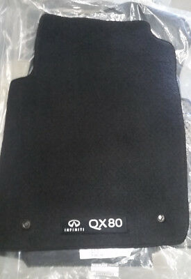 2014 to 2016 Infiniti QX80 Factory Cartpeted Floor Mats -For 2nd Row Captain's