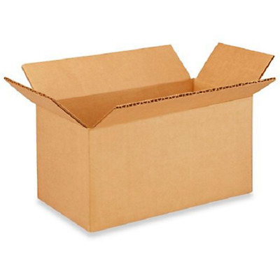 50 8x4x3 Cardboard Paper Boxes Mailing Packing Shipping Box Corrugated Carton