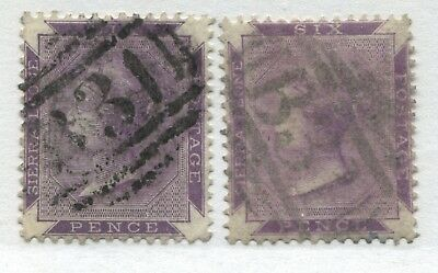 Sierra Leone QV 1885-90 6d bright violet and violet brown used
