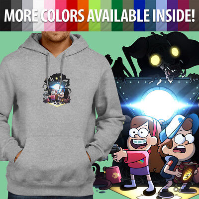 Disney Gravity Falls Mabel Dipper Pines Twins Pullover Sweatshirt Hoodie Sweater