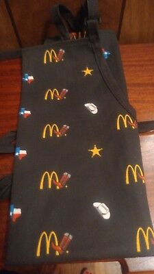 McDonald's Apparel Collection (TEXAS THEME)  Western  APRON UNIFORM **NEW  REDUC