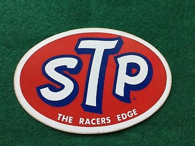 Vintage STP Product Racing Decals - The Racers Edge NOS Rat Rod Hot Rod