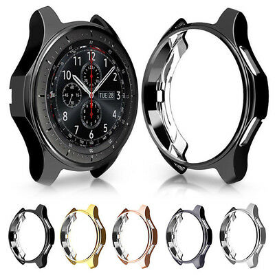 Hot For Samsung Gear S3 Galaxy 46/42mm Slim Watch Case Cover Skin Protector Soft