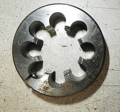 "M32 x 1.50 size OD 3"" (76MM) HSS split die button. CAPITAL"