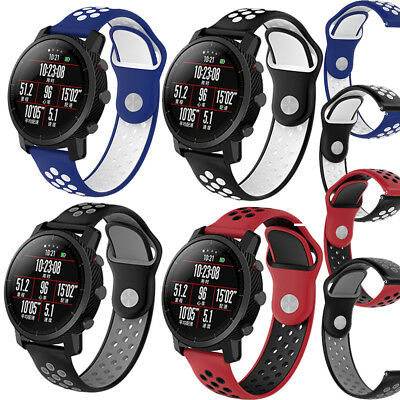 22mm Classic Silicone Bracelet Strap Watch Band For Samsung Gear S3 Frontier USA