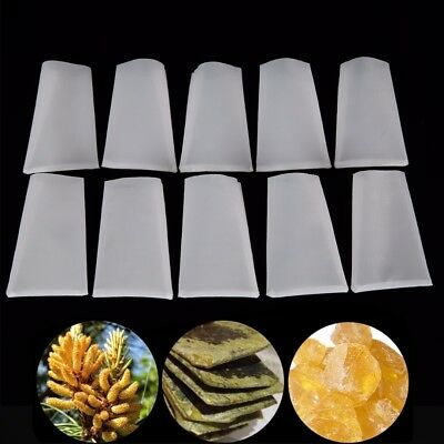10 Pack 2'' x 3'' Rosin Bags 25u Micron Nylon Tech Screen Press Filter Tea Bag