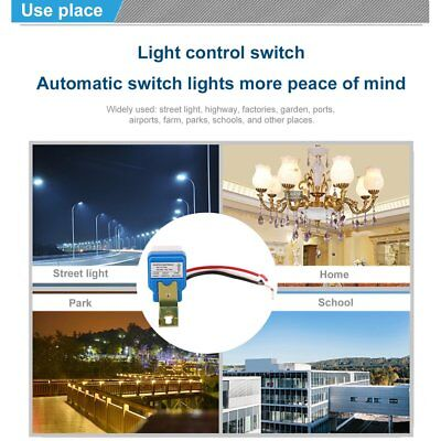 AC DC 12V 10A Auto On Off Photocell Street Light Photoswitch Sensor Switch PQ