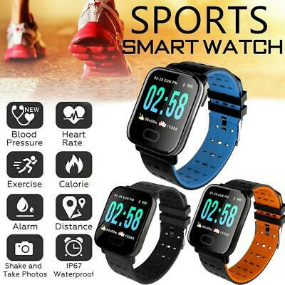 SMART WATCH SPORT FITNESS TRACKER STEP COUNTER PEDOMETER HEART RATE FitBit