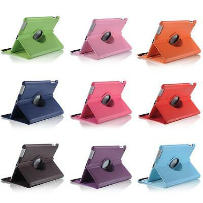 Shockproof PU Leather Protective Case Rotary Tablet Cover For Apple IPad 2 3 4