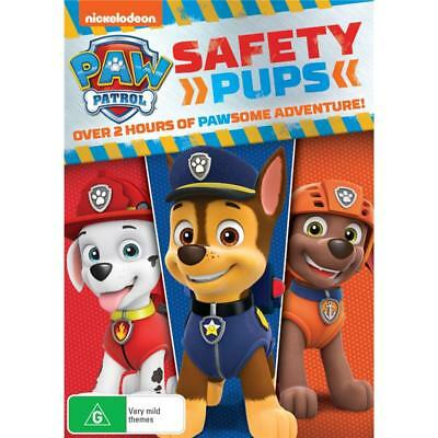 Paw Patrol - Safety Pups (DVD, 2018) Brand New & Sealed Region 4