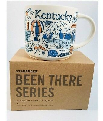 STARBUCKS City Mugs - BEEN THERE SERIES - **NEW RELEASE** Kentucky