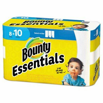 Bounty Essentials Select-A-Size Paper Towels, 2-Ply, 8 Rolls (PGC75721)