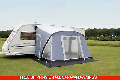 Sunncamp Swift 390 Air Plus Inflatable Caravan Porch Awning 2018