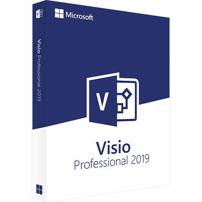 Microsoft Visio Professional 2019 License Key (bind to your Microsoft account)
