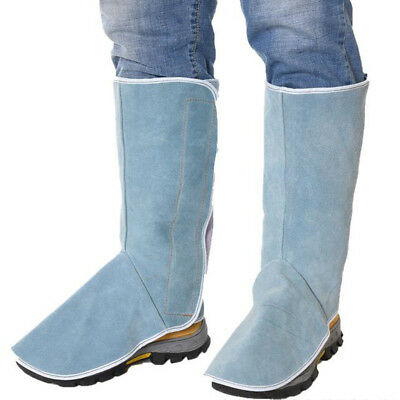 """Shoes Cover, Welder Working Foot/Ankle Cover Welding Spats 12"""" x 13"""""""