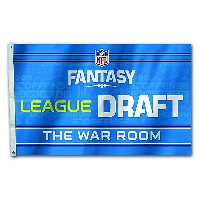 Fremont Die NFL Fantasy Football Flag, Draft Day Party, 3' x 5'
